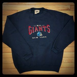 Vintage Embroidered NY Giants Sweatshirt